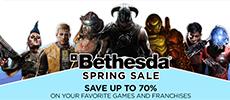 Steam开启Bethesda游戏特卖 多款经典大作最低3折
