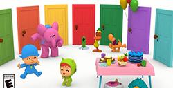 儿童动画改编游戏《小P优优派对》,正式登陆NS和PS4