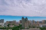 西安天空奇异云层是怎么回事?西安天空出现奇异云层
