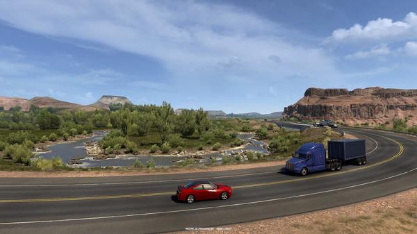 《美国卡车模拟》DLC开发影像公布  现已上架Steam商店页面