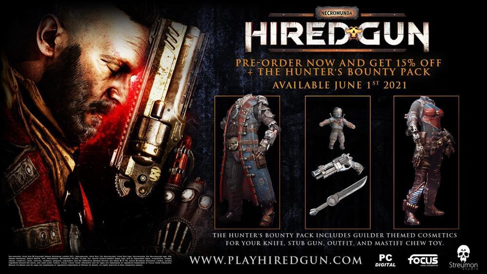FPS新作《涅克罗蒙达:赏金猎人》Steam