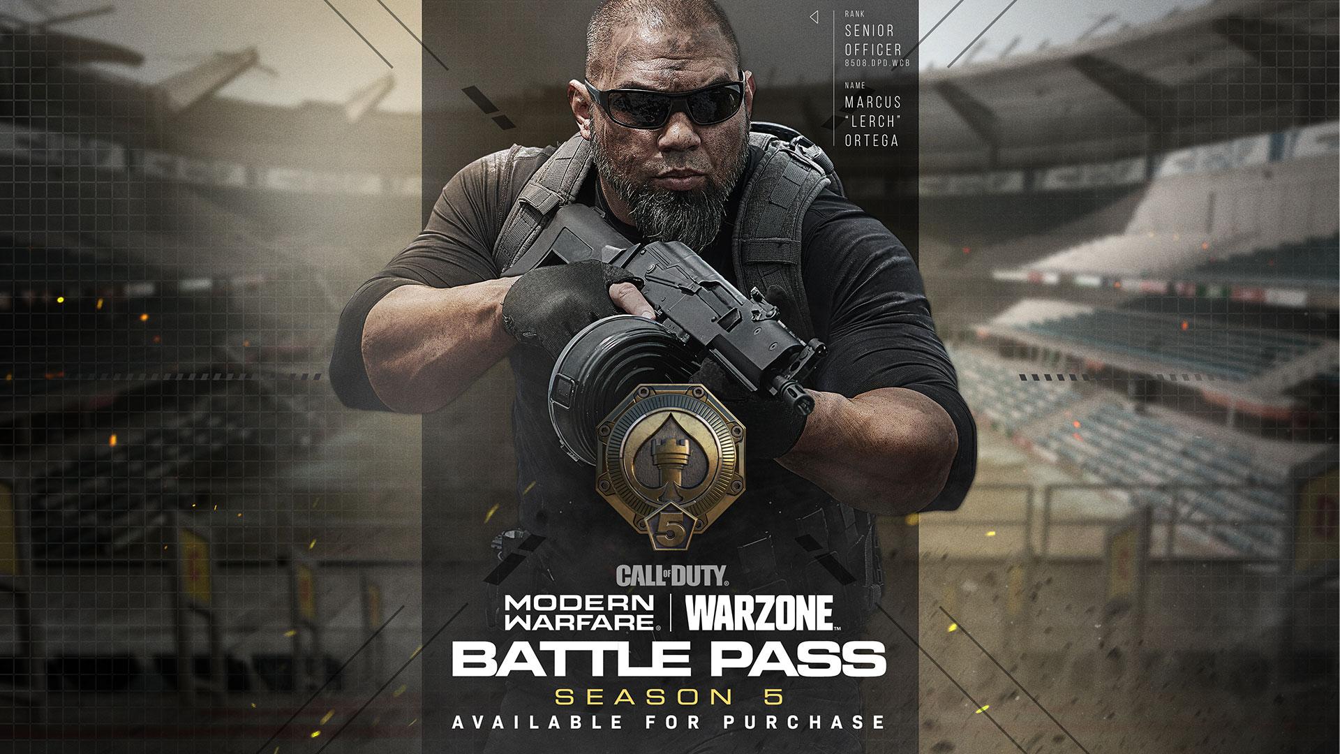 《使命召唤16:现代战争》与战区第五赛季通行证预告片公开