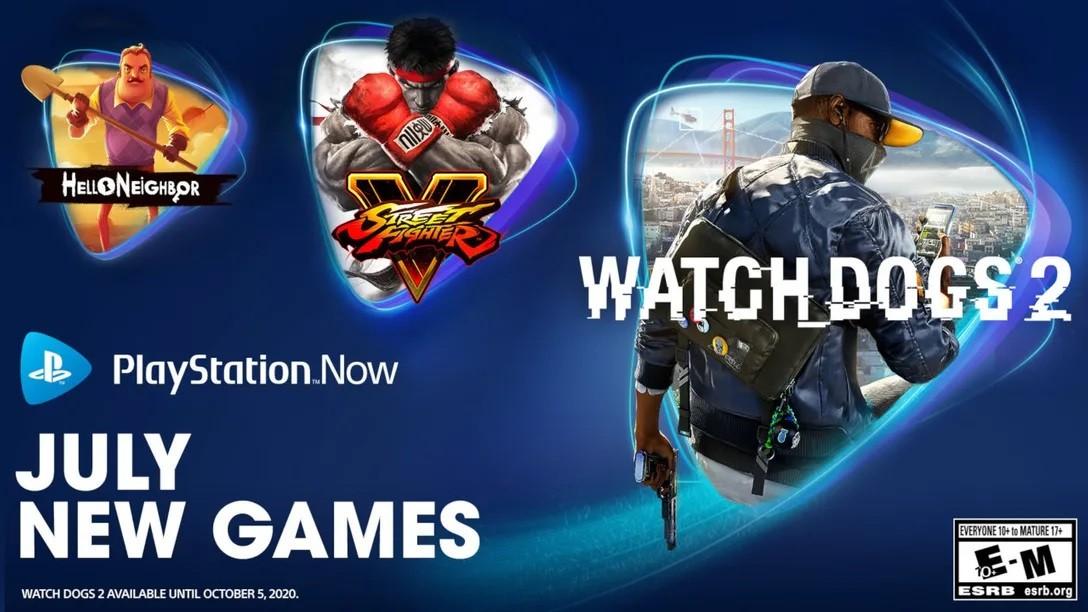 PS Now 7月新增三款游戏 《看门狗2》《街霸5》《你好邻居》