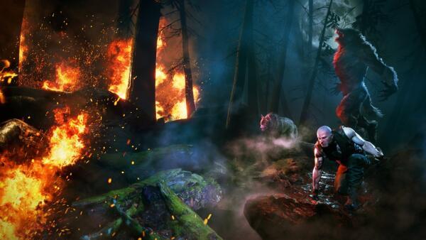 《狼人之末日怒吼:地血》最新实机展示公开