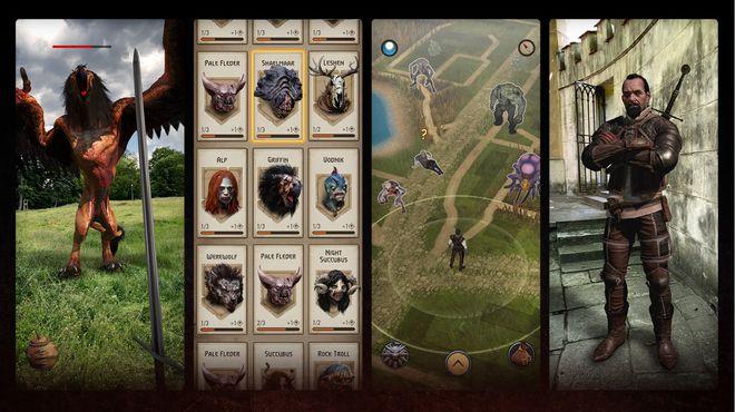 《巫师》AR手游《巫师:怪物杀手》安卓版开放预注册