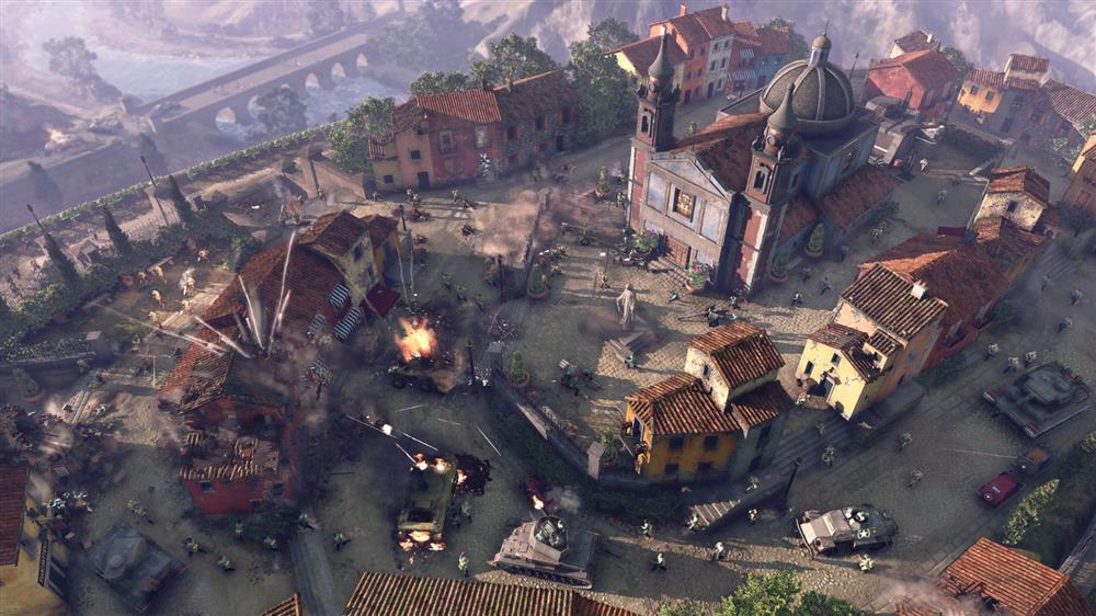《英雄连3》游戏玩法及动态地图展示预告公布