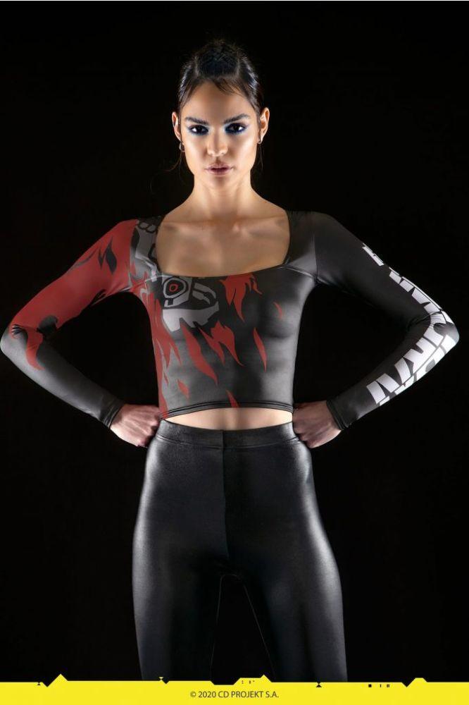 《赛博朋克2077》与BlackMilk联动_推出紧身衣