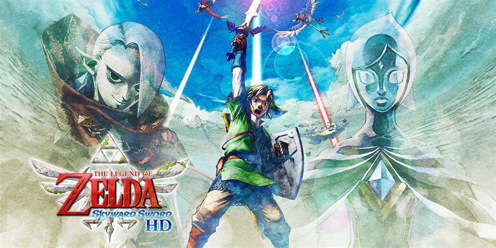《塞尔达天空之剑HD》夺得英国实体游戏周销榜冠军