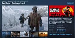《荒野大镖客:救赎2》Steam预购开启
