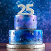 PS官推晒25周年生日蛋糕