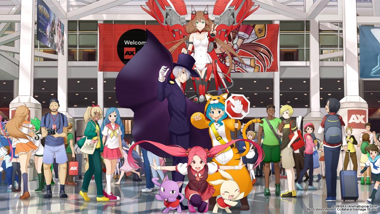 洛杉矶漫展Anime Expo2021转为线上模式