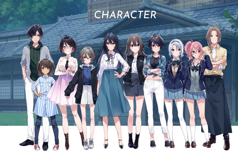 《Since Memories星穹之下》公布了一批CG图 改作将于8月26日发售