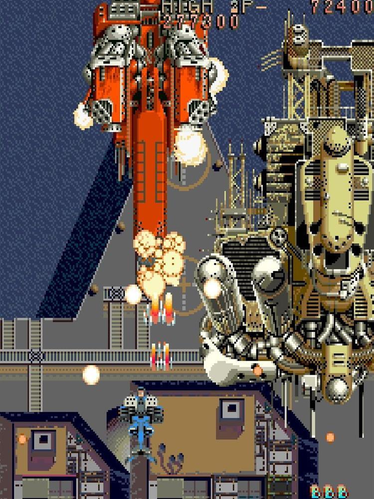 经典街机射击游戏《雷龙》今日在PS4及Switch平台发售