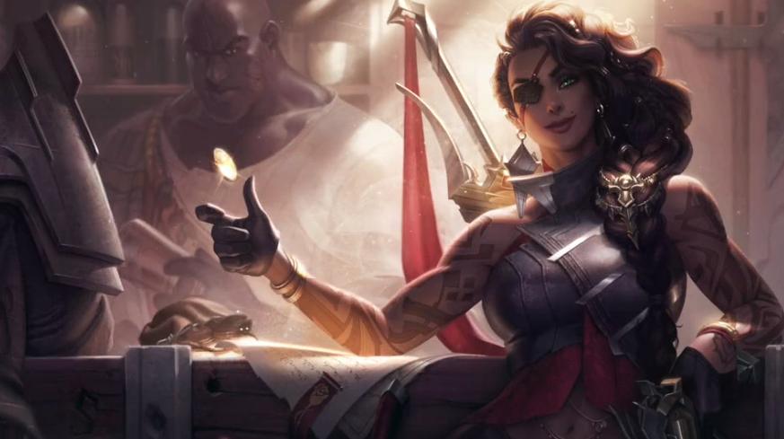 《英雄联盟》官方公开新英雄莎弥拉介绍 玩起鬼泣梗