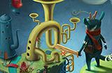 游戏日推荐  新颖画风冒险+格斗RPG游戏《虚构世界》