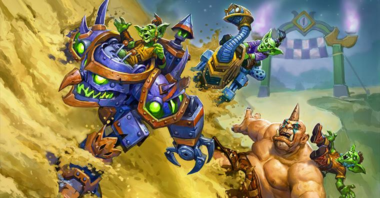 《炉石传说》全新暗月竞速赛迷你系列1月22日全球上线