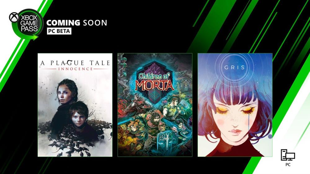PC版XGP新增游戏公布 《瘟疫传说:无罪》《GRIS》《莫塔之子》