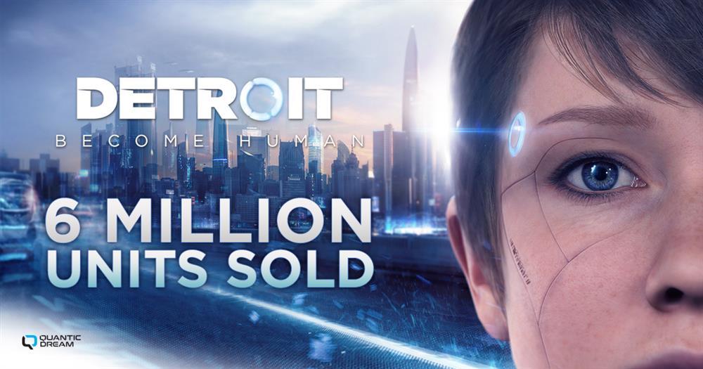 《底特律:变人》PC和PS4版销量破600万