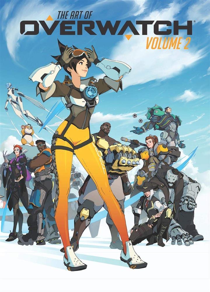 第二部《守望先锋》艺术集将于10月发售