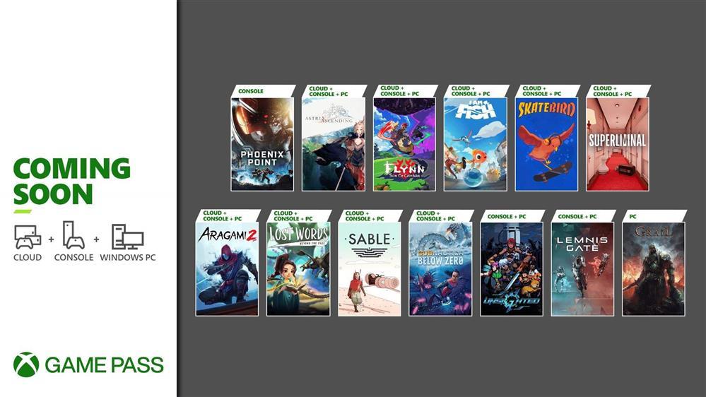 XGP九月下旬新增游戏阵容 《荒神2》、《凤凰点》等