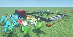 我的世界怎么快速获取花  全自动刷花方法分享