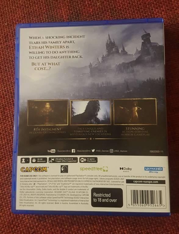 《生化危机8》PS5版国外偷跑 游戏容量为27.37GB