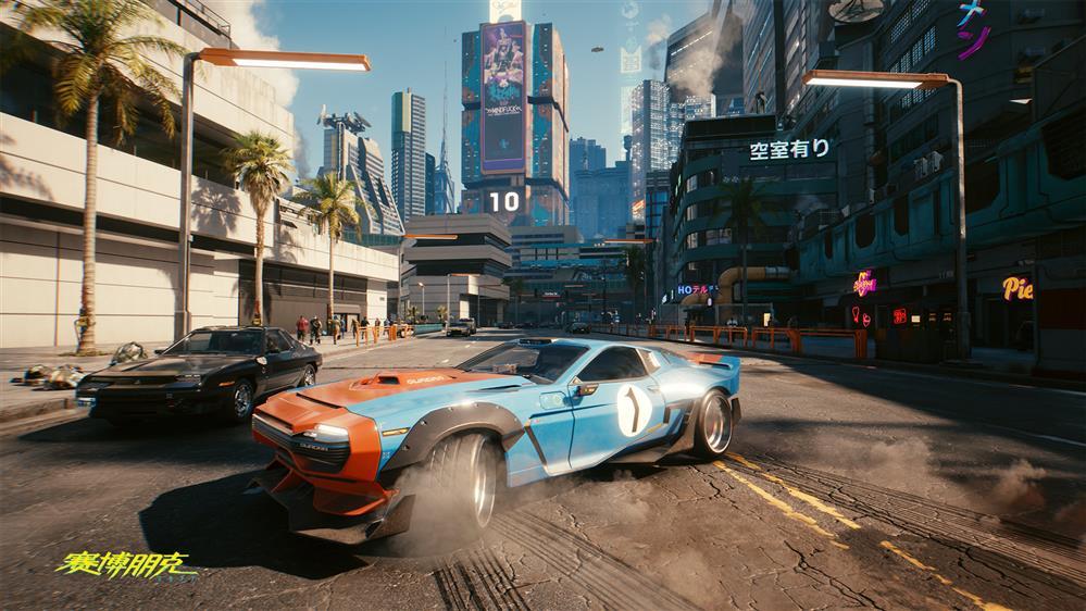《赛博朋克2077》官方公开车辆新截图