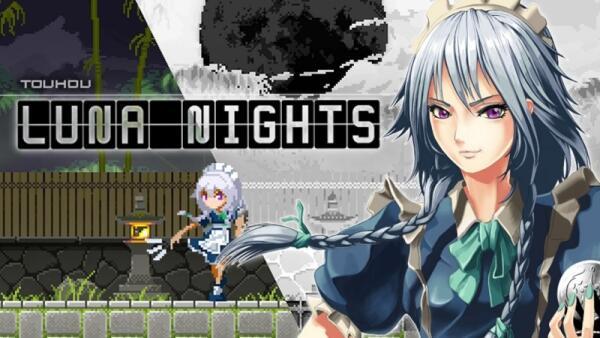 东方二次创作2D动作《Touhou_Luna_Nights》NS版12月17日发售