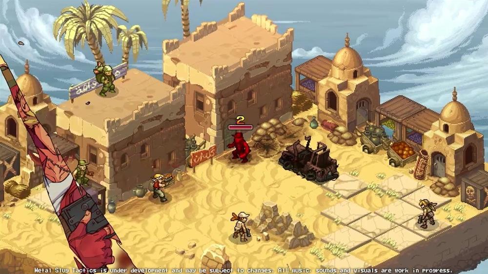 合金弹头全新主题游戏  《合金弹头:战略版》公布