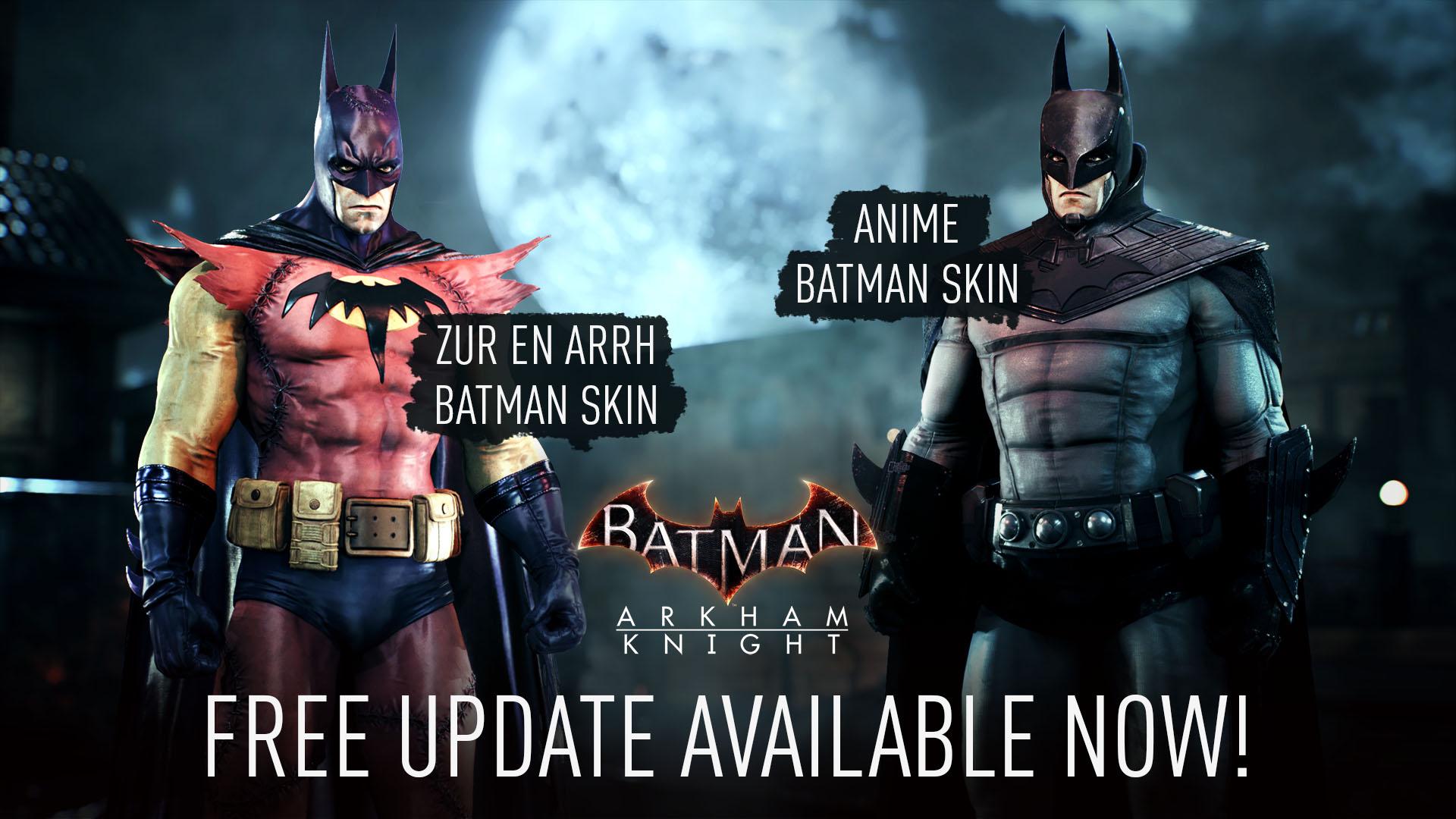 Steam《蝙蝠侠:阿卡姆骑士》移除D加密 新增两款皮肤