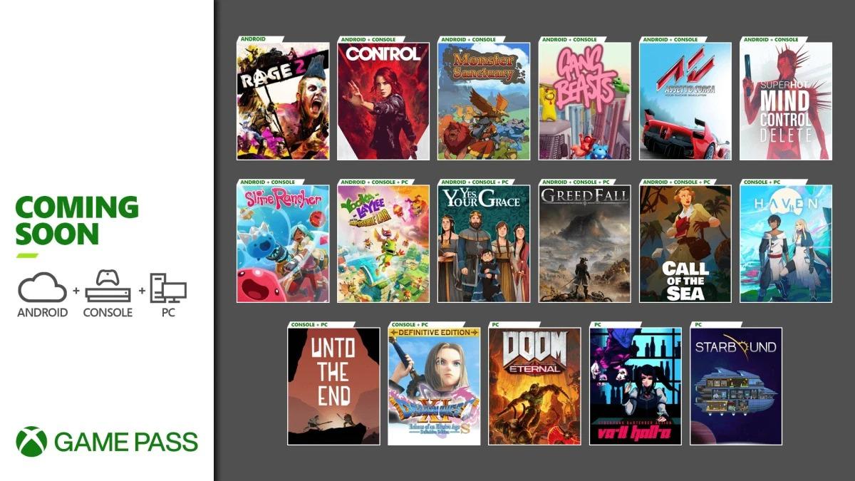 微软公布XGP12月上旬新增游戏