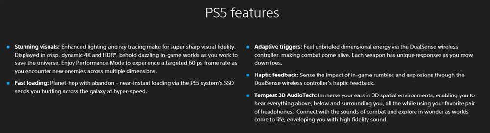 PS5《瑞奇与叮当:裂痕》官网更新