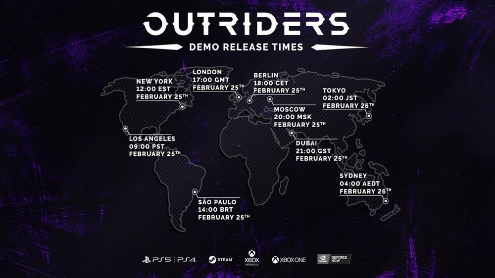 《Outriders》将推出免费试玩版