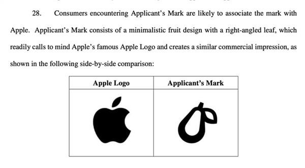 苹果起诉Prepear公司:因logo过于相似