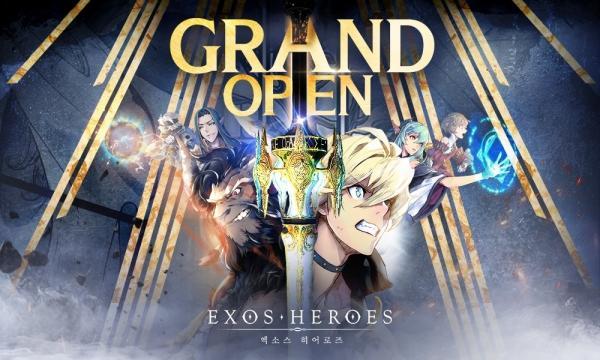 角色收集型RPG《Exos Heroes》韩国双平台推出