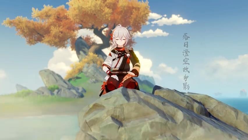 《原神》新角色演示视频发布  稻妻出身的浪人武士