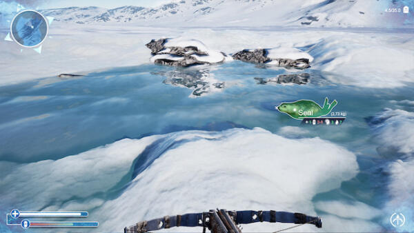 冰原开放世界冒险《Far_North_Survival》公开