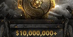 《Dota2》Ti10奖池突破1000万美元  比Ti9快近1天
