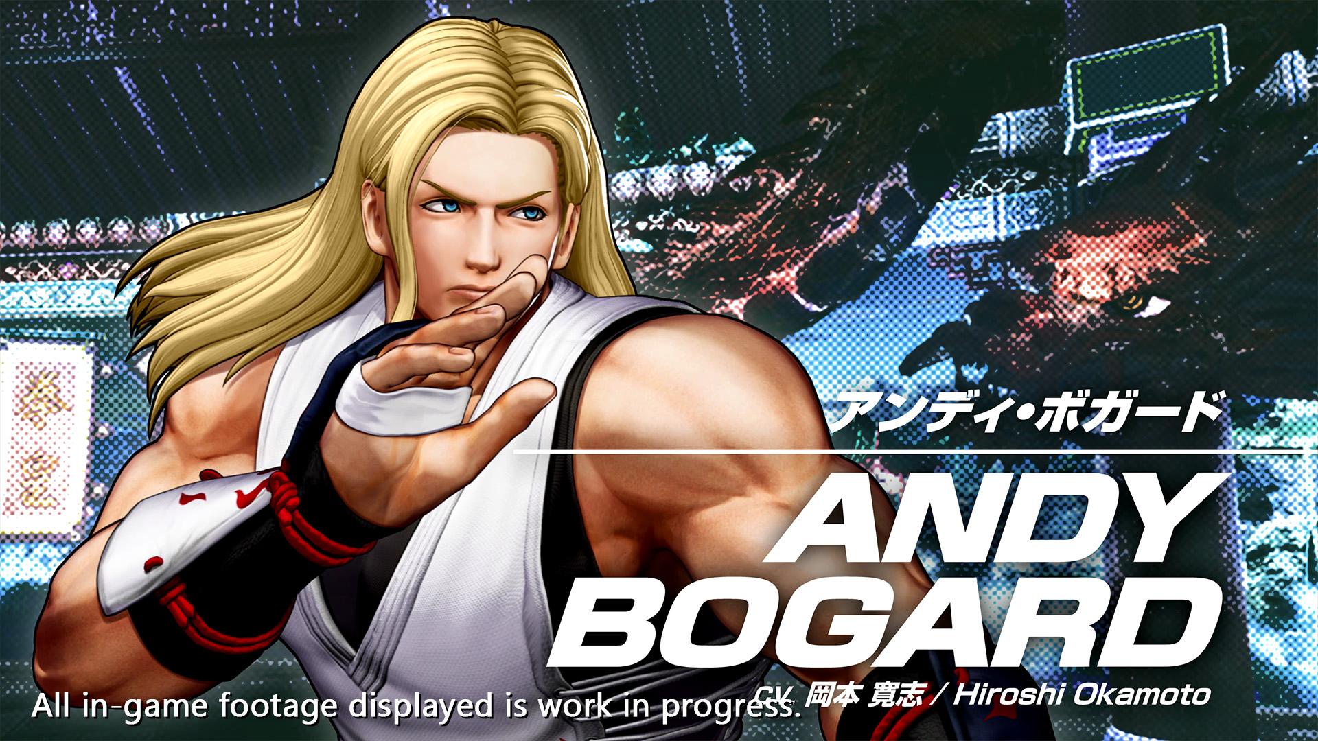 《拳皇15》安迪博加德宣传片公布