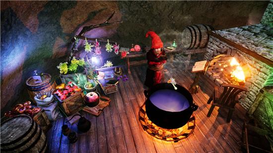地精模拟游戏《Gnomepunk》上架Steam