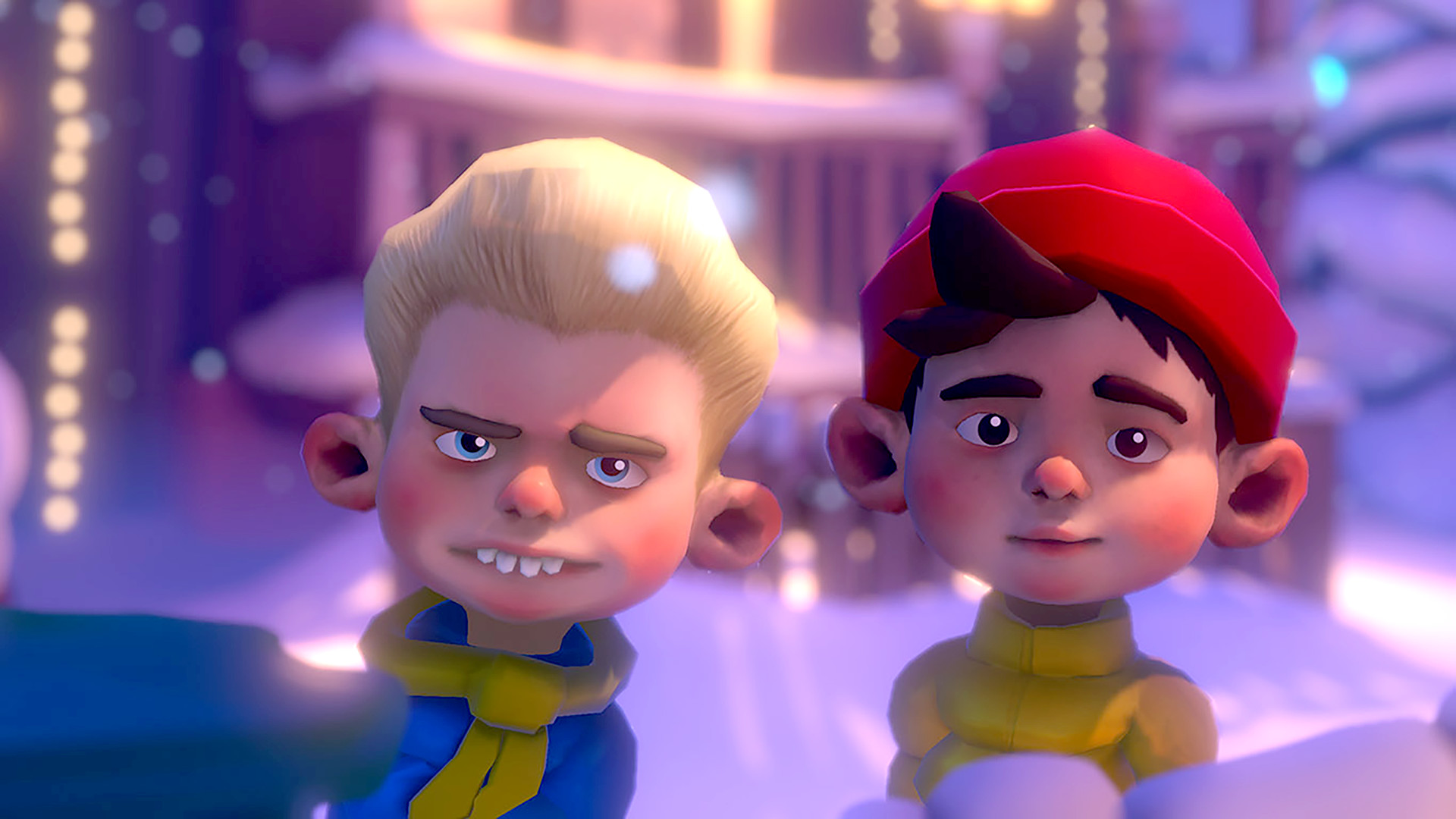 Steam喜+1:VR打雪仗《Merry Snowballs》