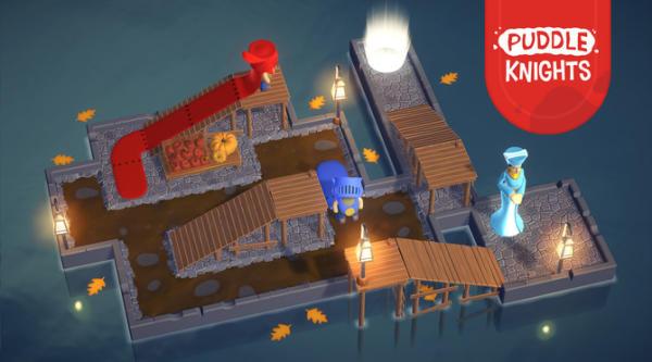 全新益智游戏《Puddle Knights》发售日公开