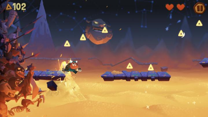 游戏日推荐  维京神话故事作背景的横版游戏《奥德玛》