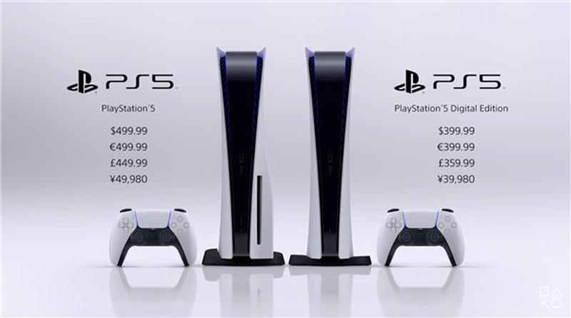 PS5预售火爆已被抢购一空 多家零售商卖到断货