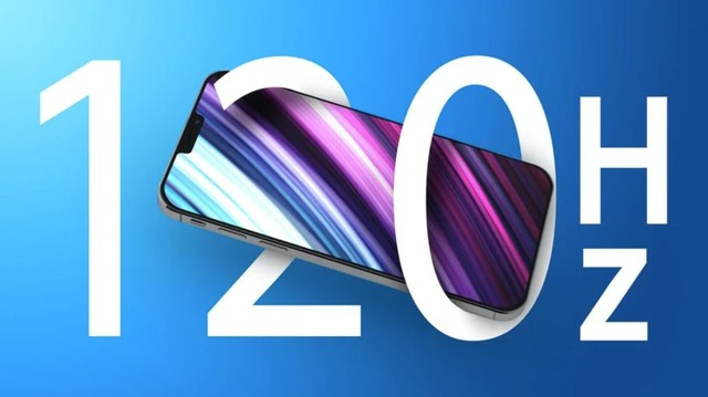 三星或已开始为iPhone 13 Pro生产120Hz屏幕