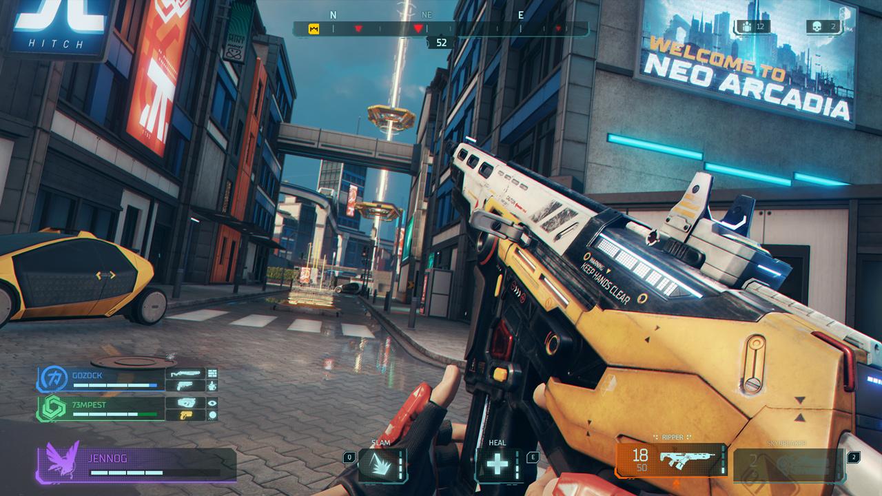 育碧吃鸡游戏新作《超猎都市 Hyper Scape》正式公布