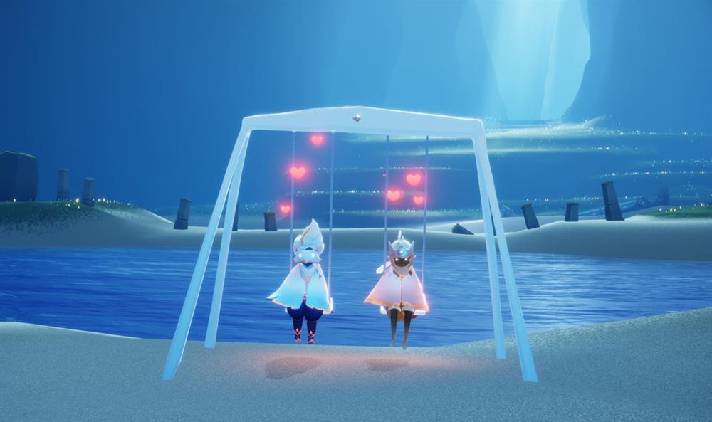 游戏日推荐  温暖的治愈旅途  《光遇》