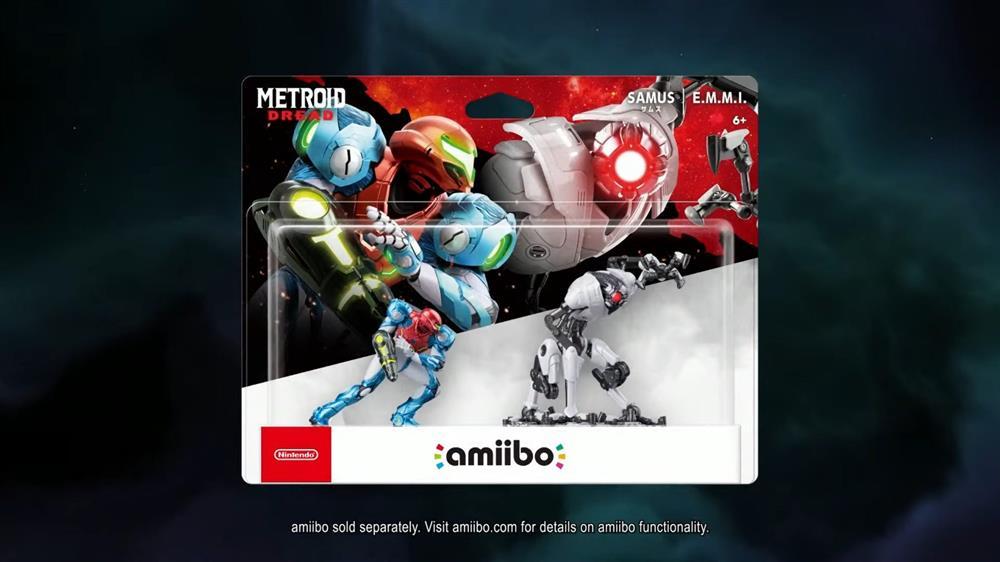 《银河战士Dread》新情报  将同步推出两款新Amiibo