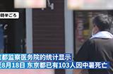 日本多地连日来气温创新高,东京103人中暑死亡