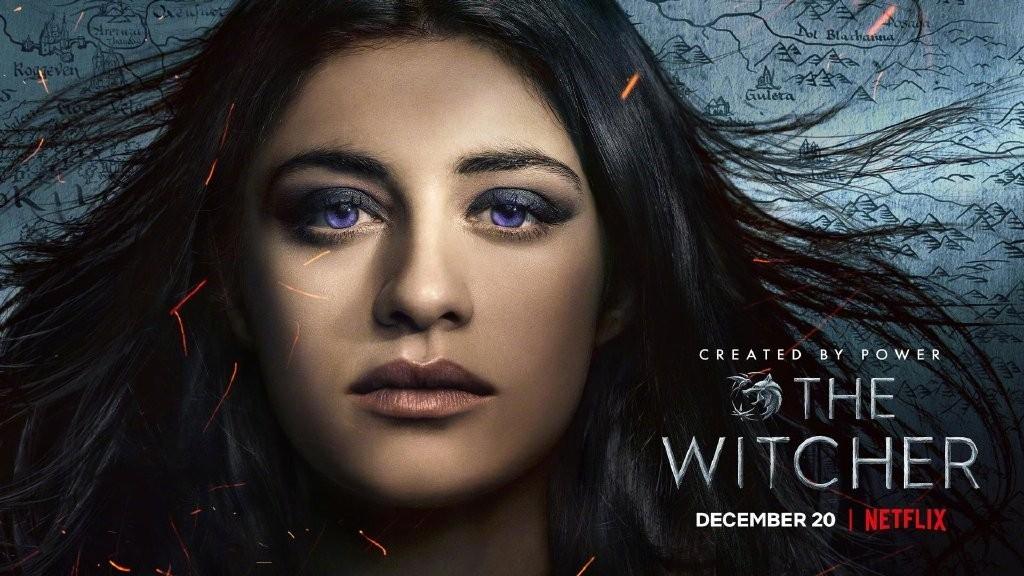 美剧《巫师》官方公布全新三大主角海报